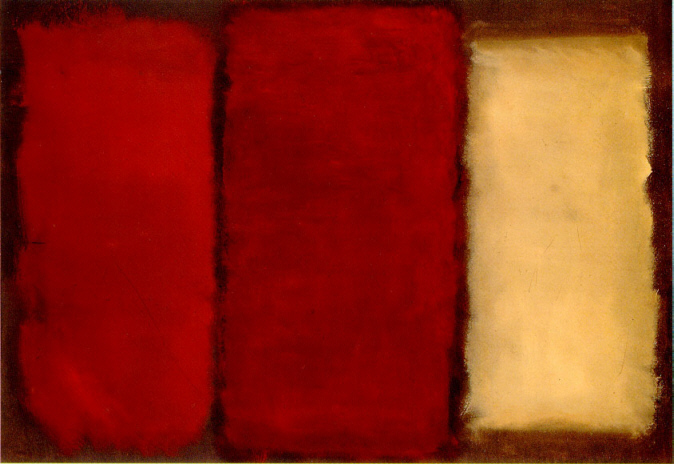 Mark Rothko - Three (1950)